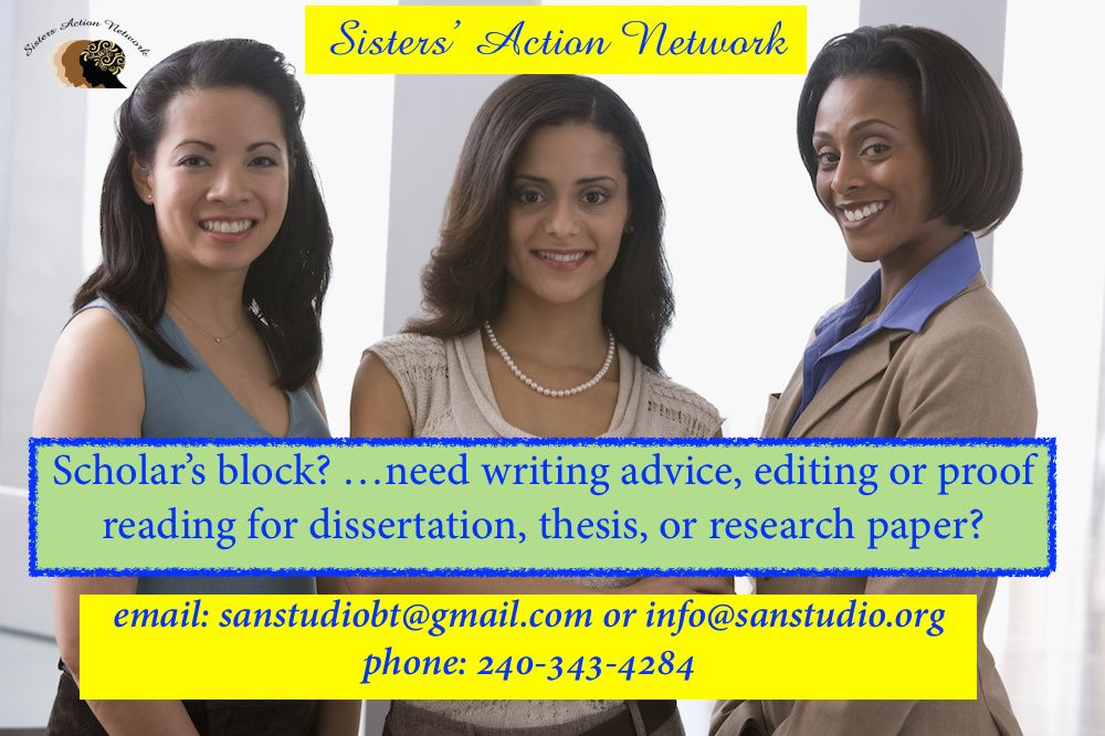 Sisters' Action Network Editing Service