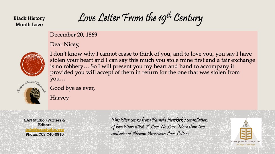 19th C Love Letter